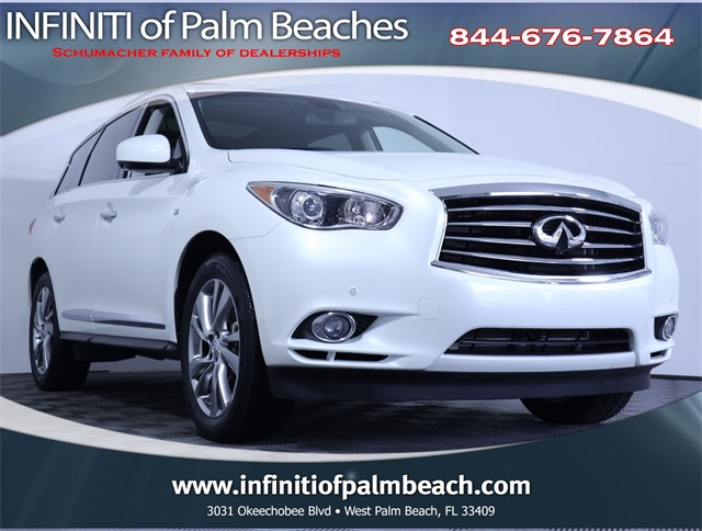 Certified Pre-Owned 2015 INFINITI QX60 Technology Package
