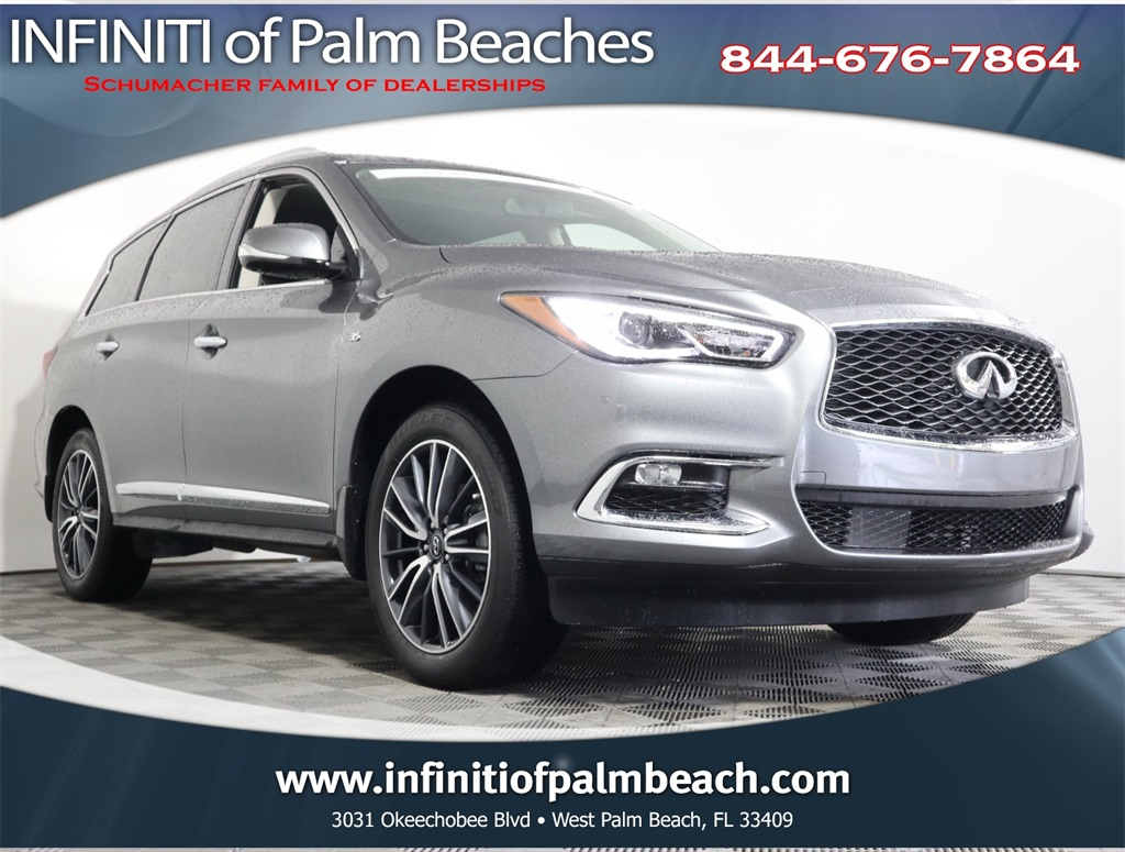 Certified Pre-Owned 2018 INFINITI QX60 Premium Plus w/Navigation, 20