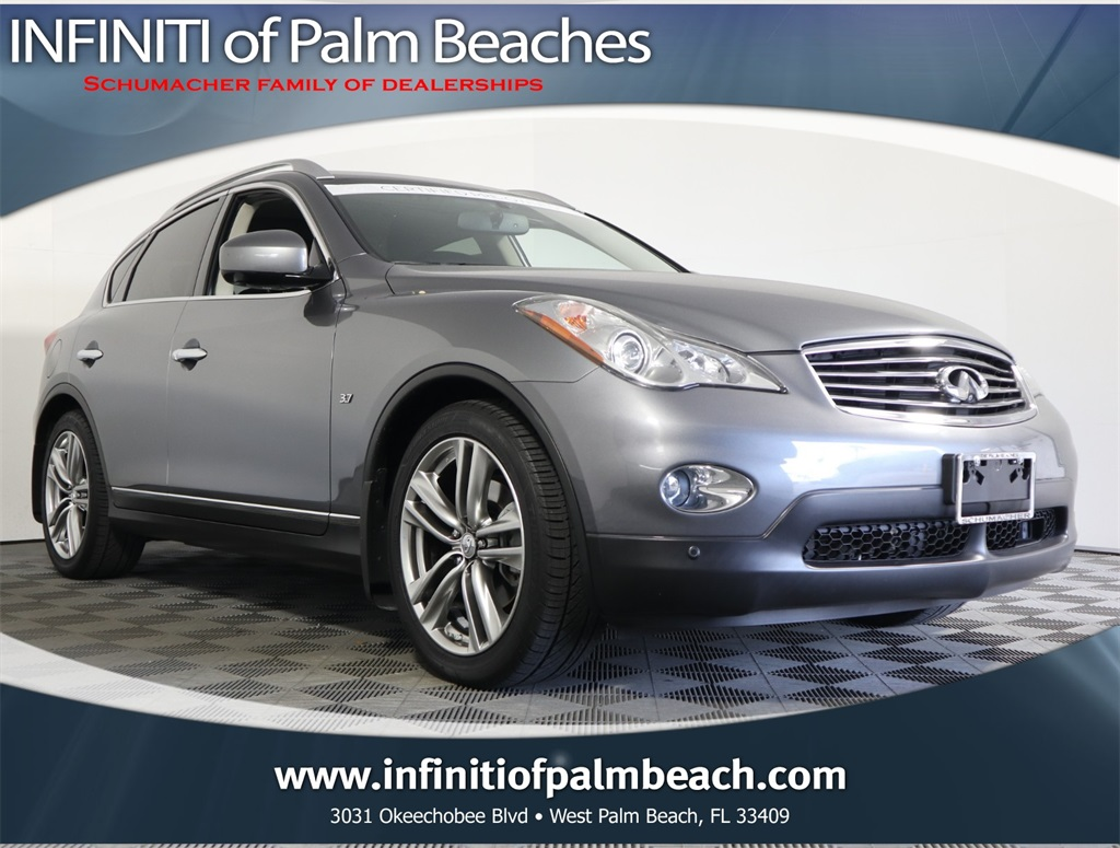 Certified Pre-Owned 2015 INFINITI QX50 AWD Journey w/Deluxe Touring & Technology Package