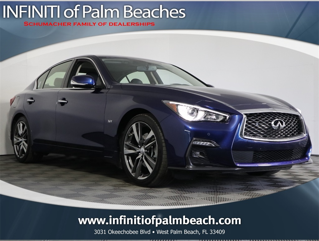 Certified Pre-Owned 2019 INFINITI Q50 3.0t Signature Edition