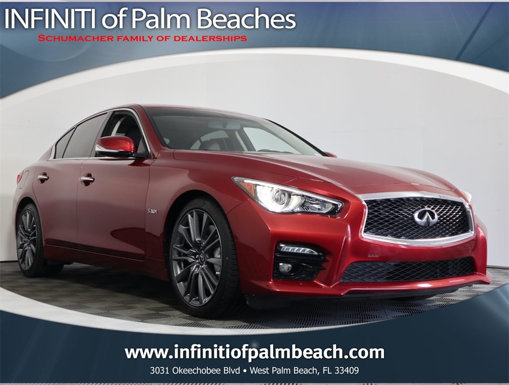 Q50 For Sale >> Certified Pre Owned 2016 Infiniti Q50 Red Sport 400