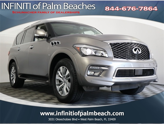 Certified Pre-Owned 2016 INFINITI QX80 Navigation System