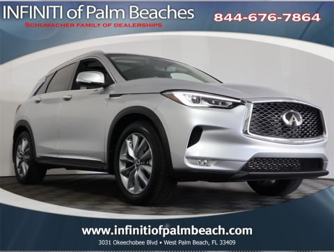 Certified Pre-Owned 2019 INFINITI QX50 LUXE w/Navigation