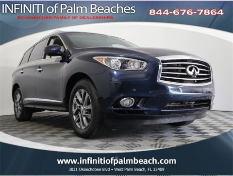 Certified Pre-Owned 2015 INFINITI QX60 Driver Assist w/Theater Package