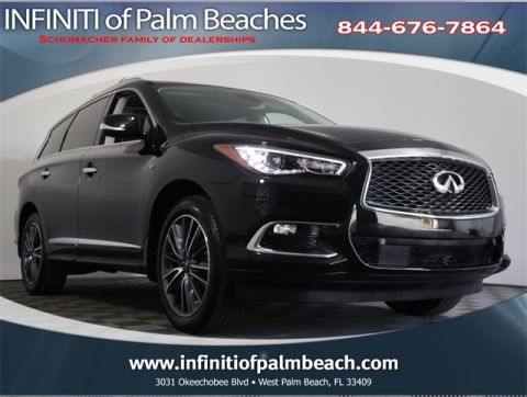 Certified Pre-Owned 2017 INFINITI QX60 Deluxe Technology Package