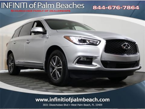 Certified Pre-Owned 2017 INFINITI QX60 Driver Assistance Package