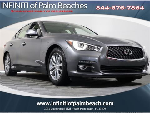 Certified Pre-Owned 2015 INFINITI Q50 Moonroof Package