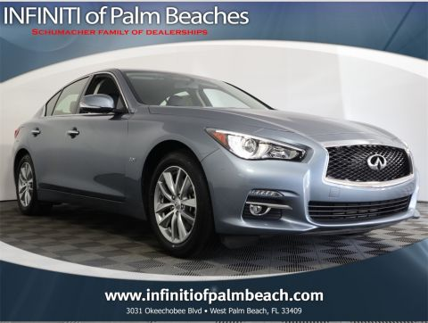 Certified Pre-Owned 2016 INFINITI Q50 2.0t