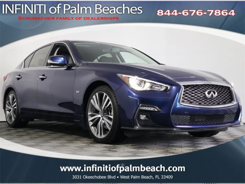 Certified Pre-Owned 2018 INFINITI Q50 Sport